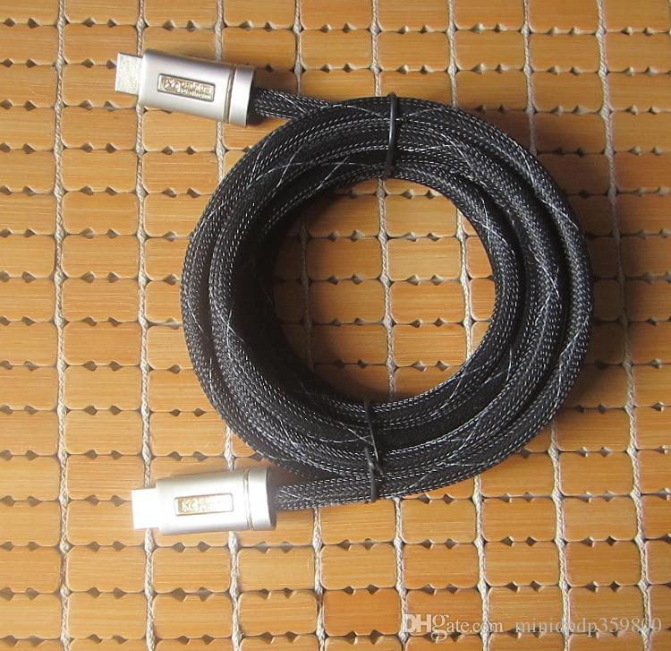 Yeni Yüksek Hızlı HDMI - HDMI M / M Kablo Ethernet 1.4 V 3M