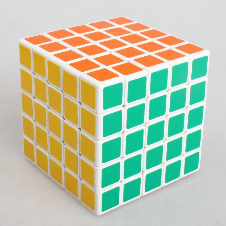Nuovo Shengshou 5x5x5 64mm Magic Cube Velocità Puzzle Bambini Educativi Twisty Magico Cubo Snake Stickerless Giocattoli Spedizione Gratuita