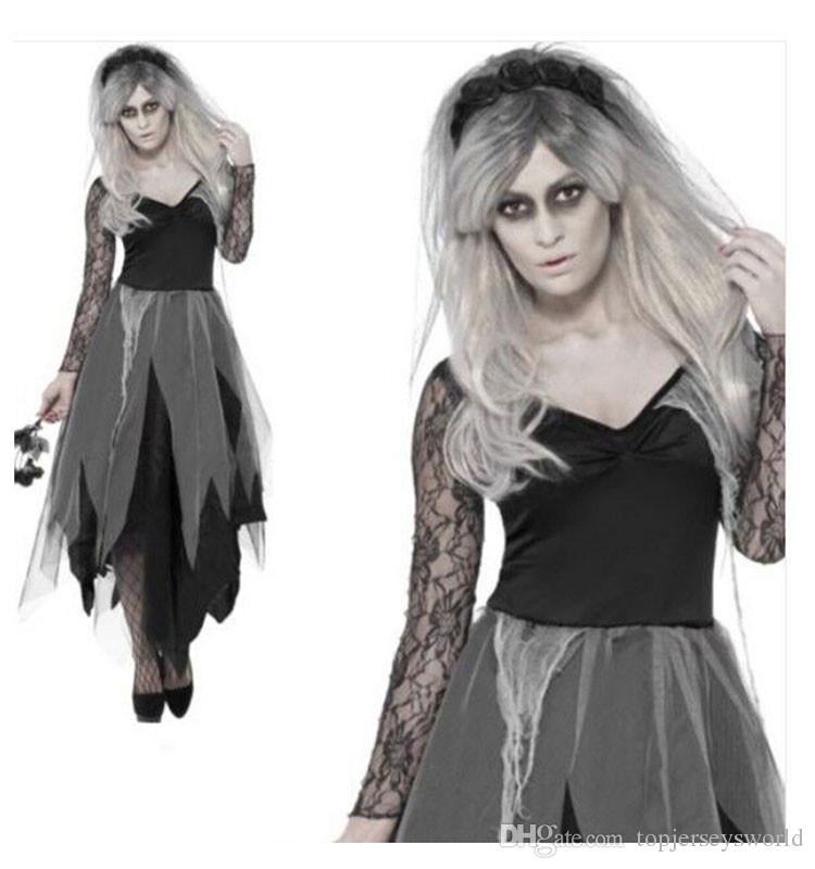 black corpse bride costume lady zombie masquerade fancy dress uk 12 26 plus size group halloween costumes for kids halloween costumes for groups of 7 from - Size 26 Halloween Costumes