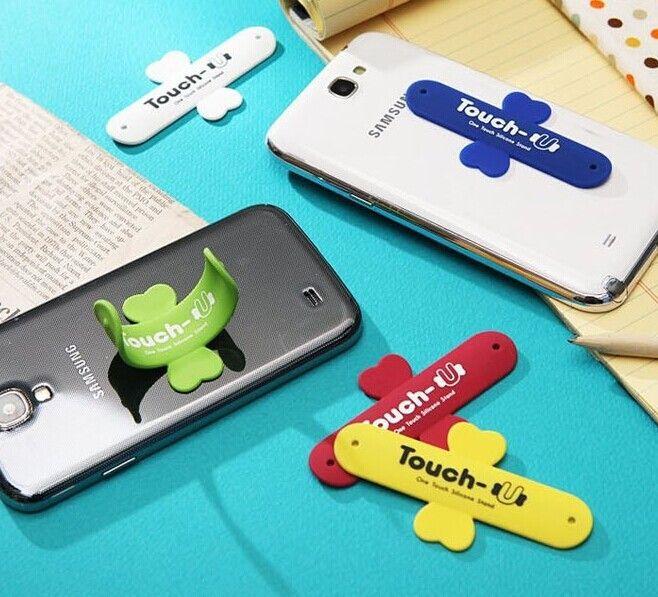 En gros / Support de téléphone Portable One Touch U Support de support en silicone Téléphone portable Coche Monte support de téléphone pour téléphone