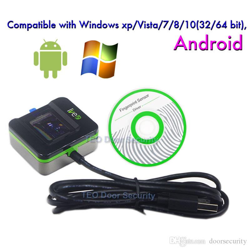 Fingerprint sensor ZKTeco LIVE20R Andriod Fingerprint Reader Biometrics  Fingerprint Scanner ZKTeco SLK20R Enrollment Device