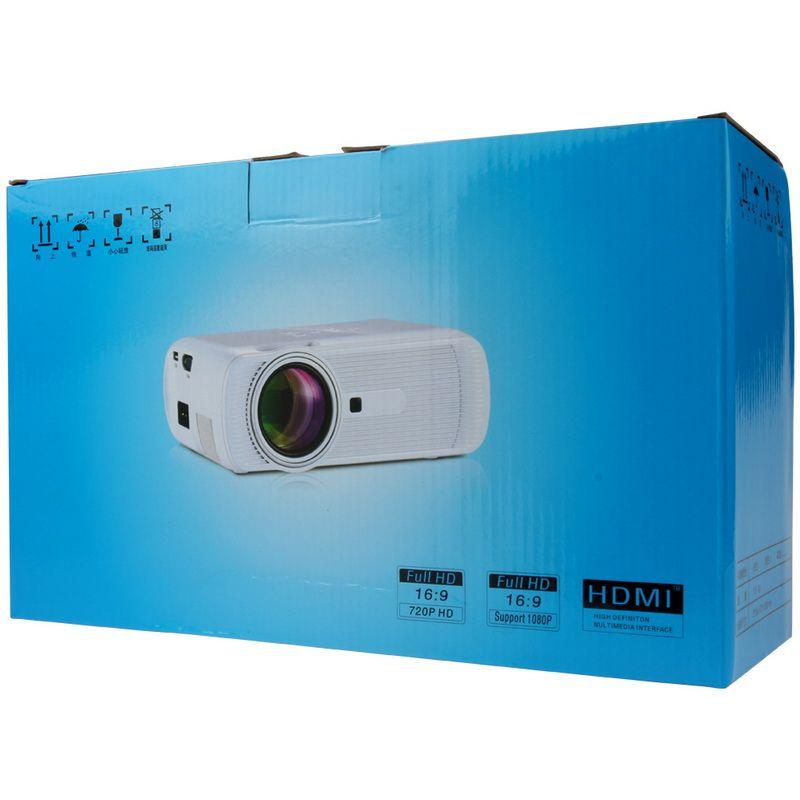 2016 BL-80 Mini Portable LED Projecteur 1000 Lumens TFT LCD Full HD AV USB SD VGA HDMI Pour Jeux Vidéo TV Home Cinéma Film Proyector Beamer