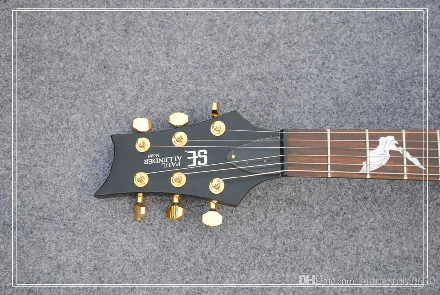 Оптовая гитары фиолетовый волна тростник электрогитара Палисандр гриф высокое качество OEM из Китая