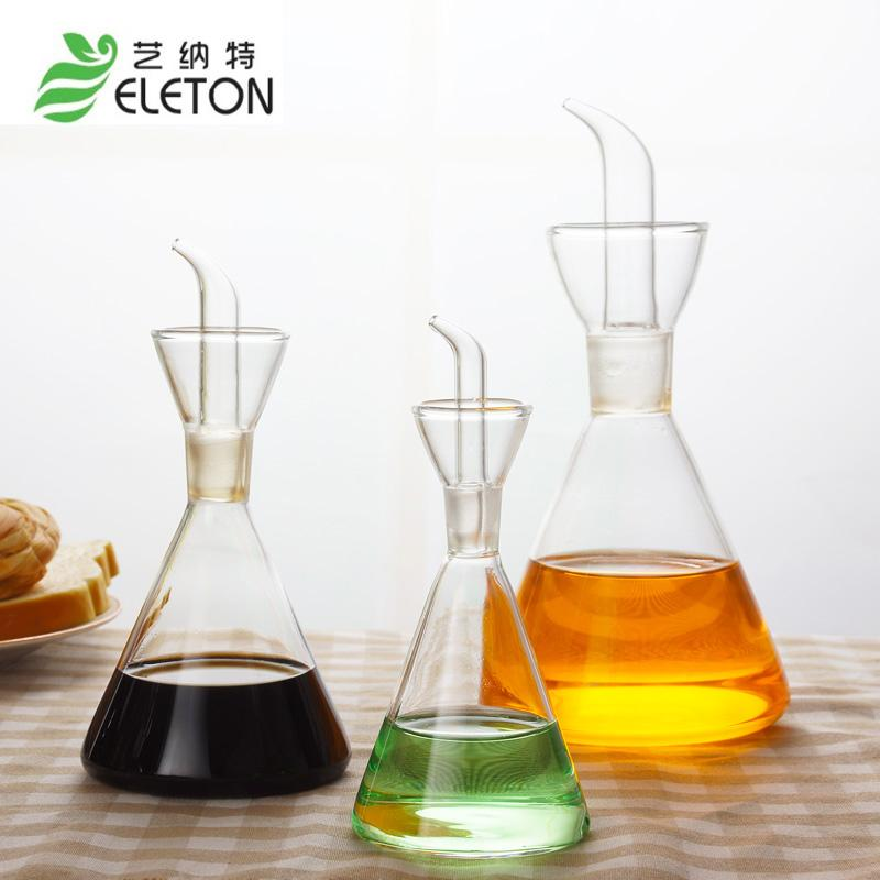 2018 Wholesale Eleton Glass Kitchen Storage Bottles Of Olive Oil And Sesame  Oil Wine Glass Special Kitchen Supplies Jars Storage Bottles From Brendin,  ...