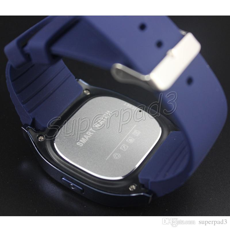 livre dhl smartwatch m26 bluetooth sem fio relógio de pulso inteligente para iphone samsung htc android vida telefone à prova d 'água relógio para mulheres dos homens