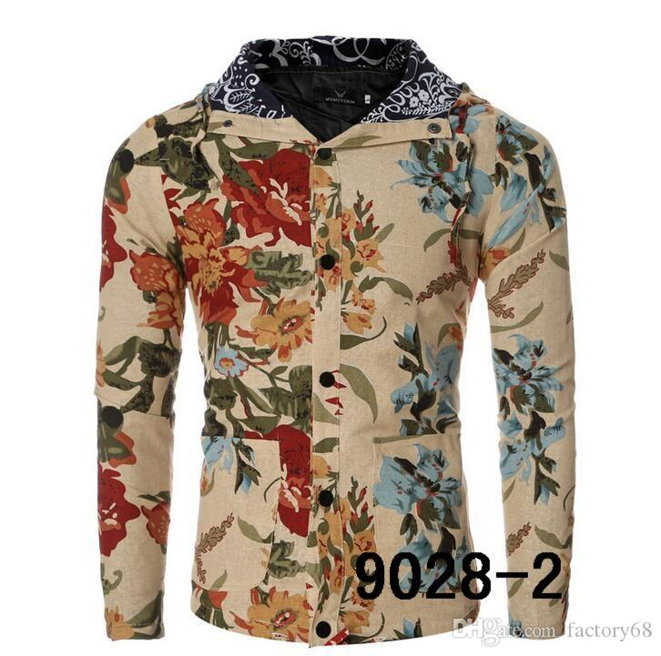 High quality 2016 new winter jacket men's Flower Series baseball jacket collar men jacket men coat 12 colour