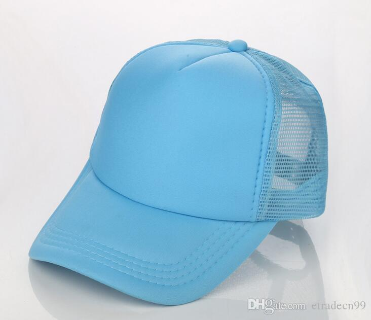 Cheap Blank Trucker Mesh Hat Spring Summer Snapback Baseball Cap for ... 8d5d58e01046