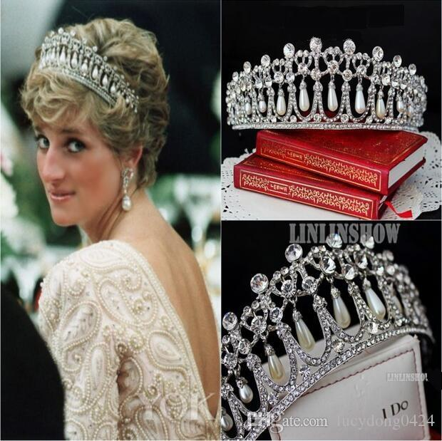 Shining beaded crystals wedding crowns 2016 bridal crystal tiara shining beaded crystals wedding crowns 2016 bridal crystal tiara crown headband hair accessories party wedding tiara hot online with 3486piece on junglespirit Choice Image