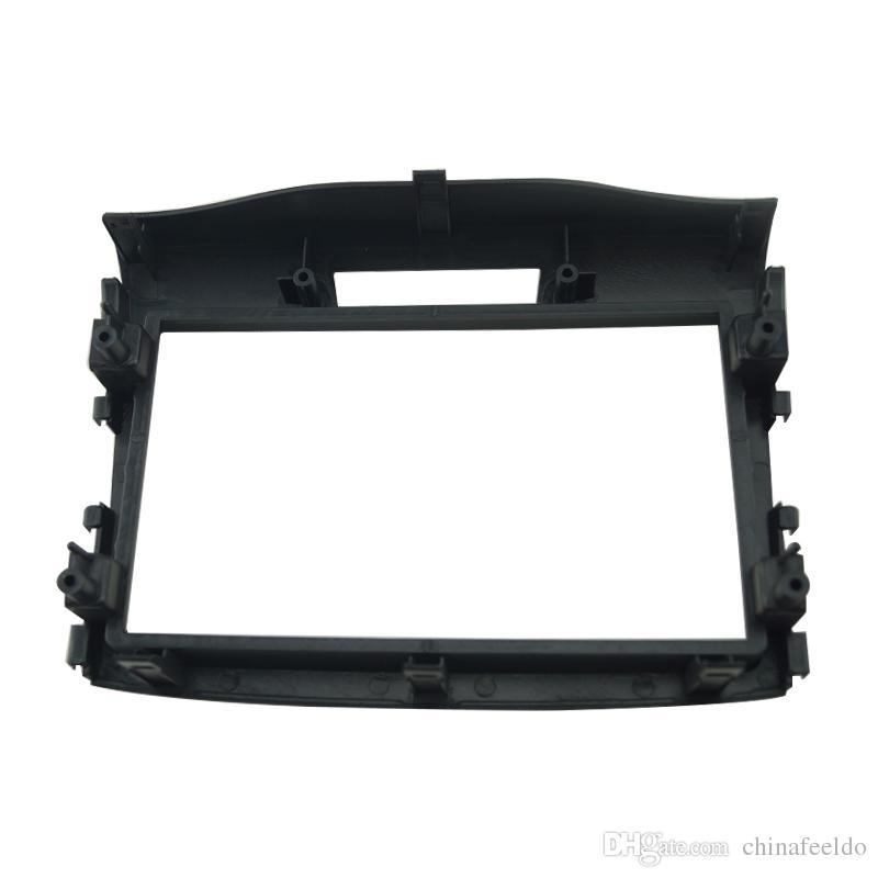 LEEWA Car refitting DVD frame Panel Dash Kit Fascia Radio Frame Audio frame for 12-15 Honda CRV 2DIN #1645