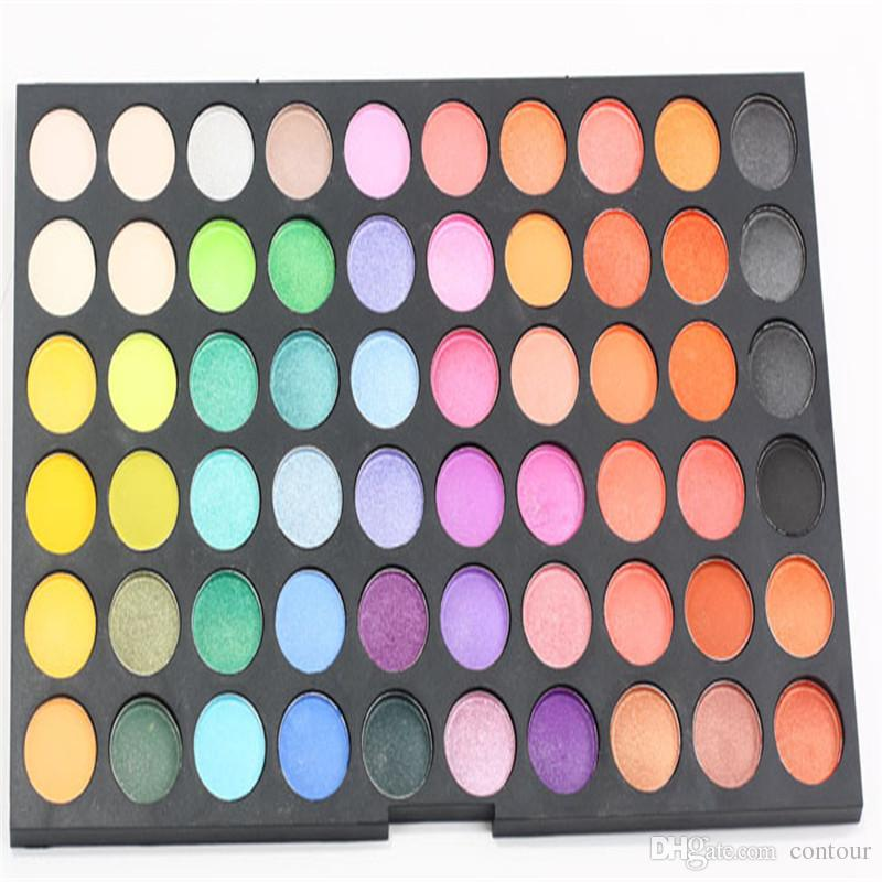 Professional Makeup Eyeshadow Palette Colorful Shimmer