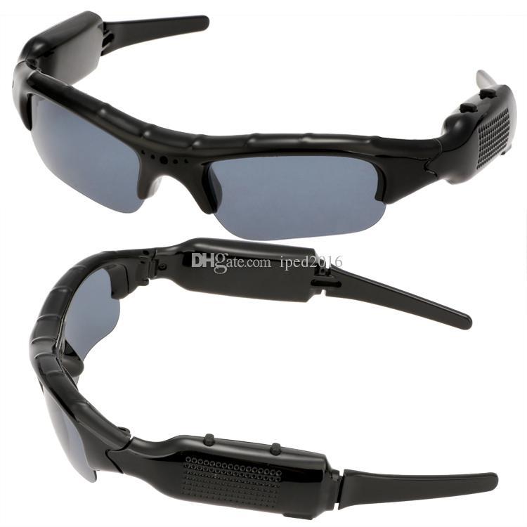 2016 Hot Digital Audio Video Camera DV DVR Sunglasses Sport Camcorder Recorder Portable Mini Camcorder Stereo MP3 58