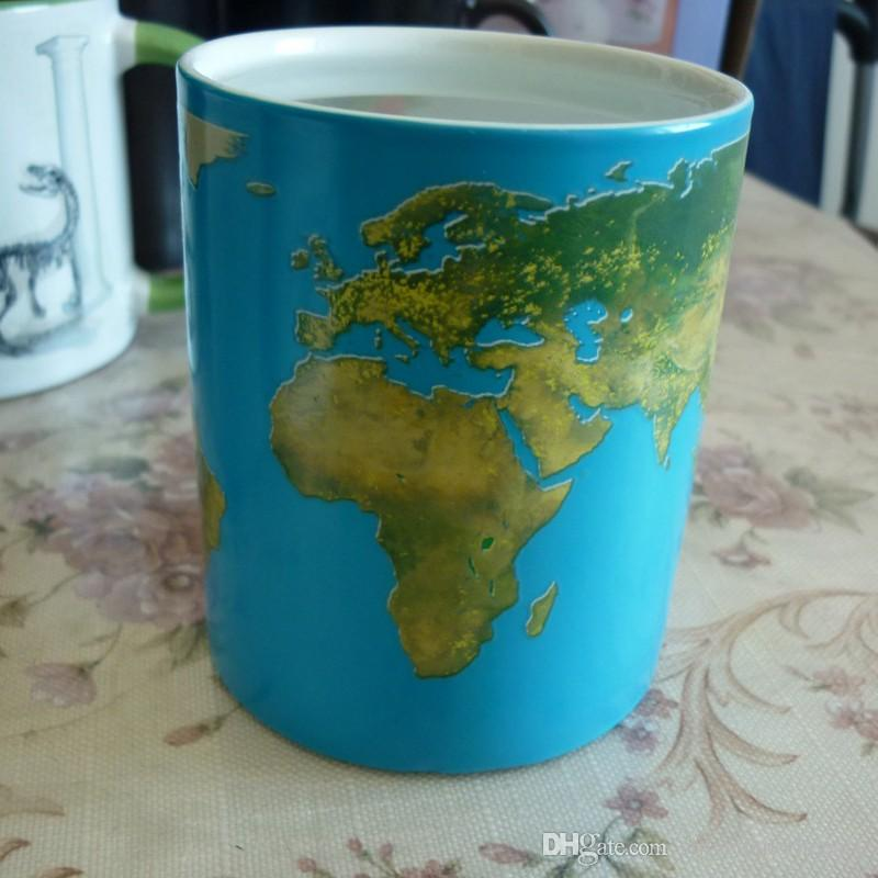 Thumbs up day and night mug world map unique style heat activated thumbs up day and night mug world map unique style heat activated color changing ceramic mug for coffee drinking insulated mugs insulated travel mugs from gumiabroncs Choice Image