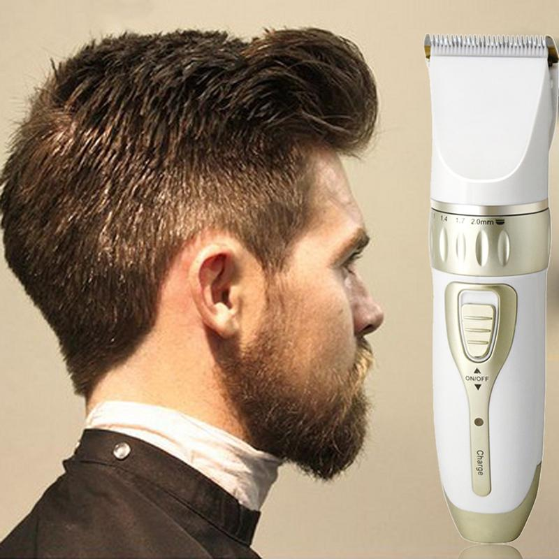 KM-1817 cortadora de pelo eléctrica cortadora de pelo cortador profesional máquina de corte de pelo recortadora de pelo recargable para hombres cuidado de la cara