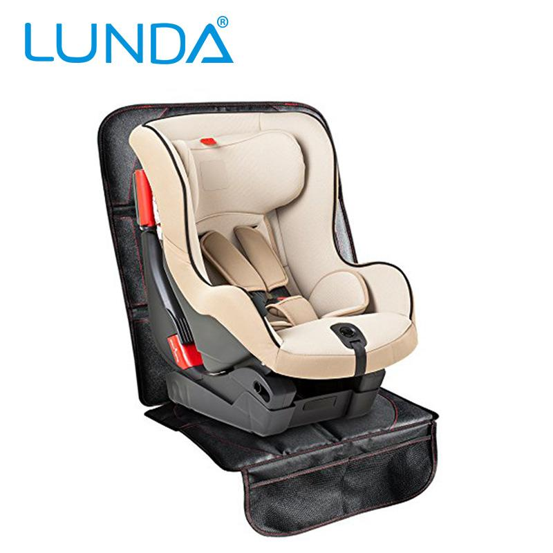 Lunda Luxury Leather Car Seat Protector Child Or Baby Car Seat Cover