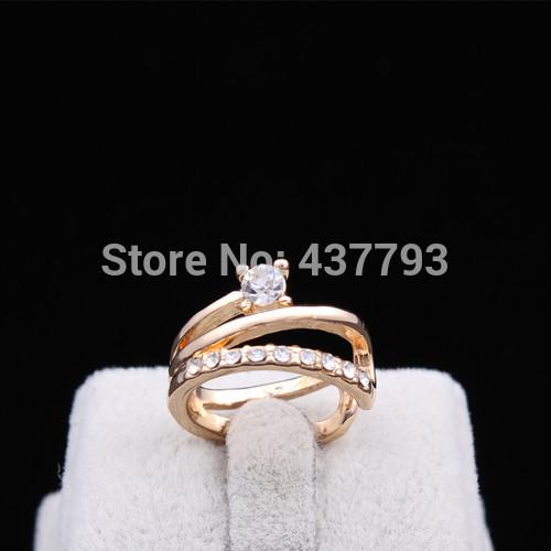 2018 Wholesale Wholesale New Jewelry Gold Color Unique Korean Design