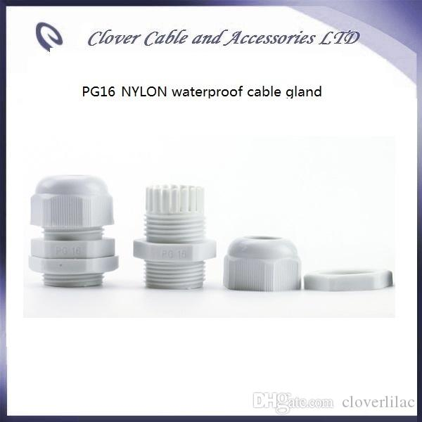 Hot Sale and IP68 Waterproof for Cable Connector PG16 Nylon Cable Gland