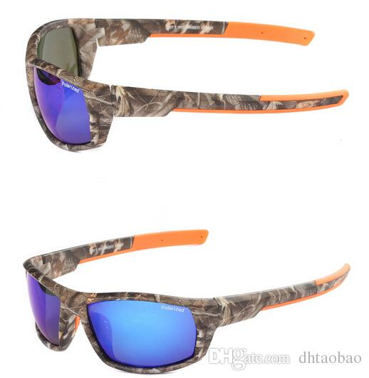 MEN sports UV400 Polarized camouflage sun glasses +camouflage bags cycling glasses women Outdoor Wind eye protector sunglasses cycling glass