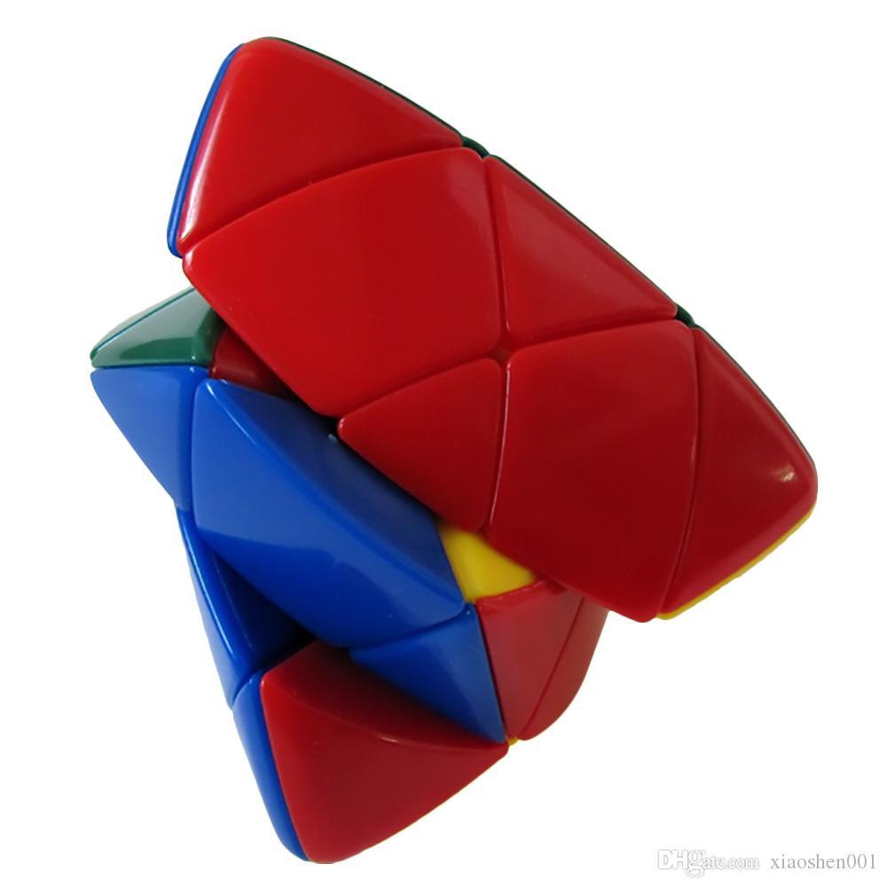 شحن مجاني shengshou mastermorphix zongzi رايس زلابية 3x3x3 stickerless ماجيك كيوب ماجيك لغز سرعة الكلاسيكية لعبة التعلم