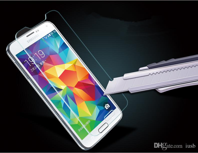 Tempered Glass Films For Samsung Win i8552 Galaxy CORE DUOS ACE 3 Grand Trend Duos Note3 Neo Mega 2 Star Pro Explosion Protector Film