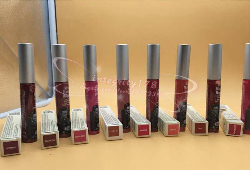Neue Meet Matt e Hughes Langlebiger flüssiger Lippenstift 8 Farben Sexy Roter Lippenstift 6,5ml Wasserdichte Matte Batom