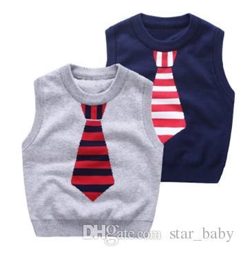 85d4dd684 Fashions Kids Cartoon Pullover Sweater Vest Autumn Childrens ...