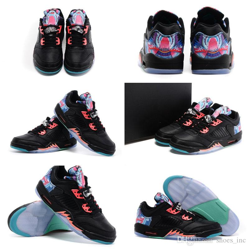 quality design 1a4ee ecc4c Acheter Avec Des Chaussures Box Livraison Gratuite Haute Qualité Vente  Chaude 5 V LOW CNY Chinois Nouvel An Hommes Sport Trainers Chaussures De   65.99 Du ...