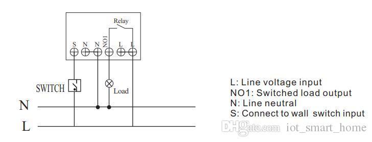 3000W Z Wave in Wall Einzelrelais Ein / Aus-Schaltermodul TZ78-kompatible Fibaro Vera Samsung-Hubs
