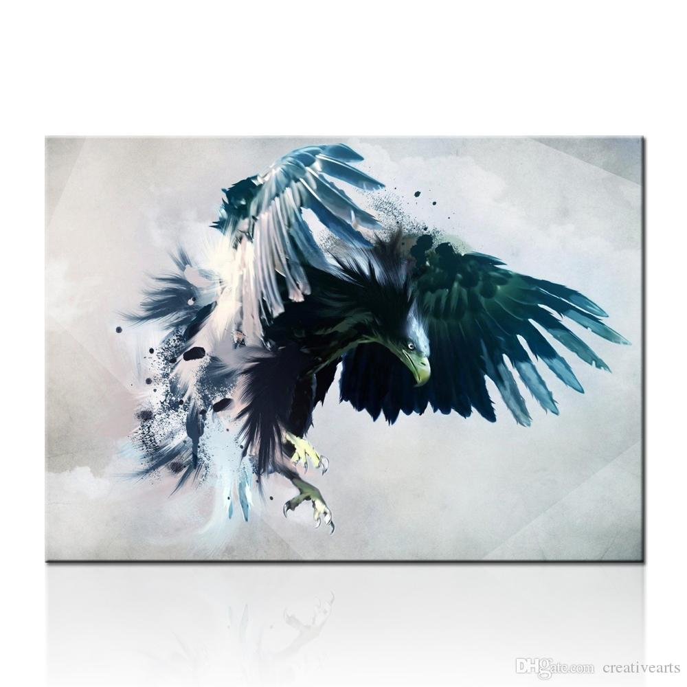 Eagle Flying Painting