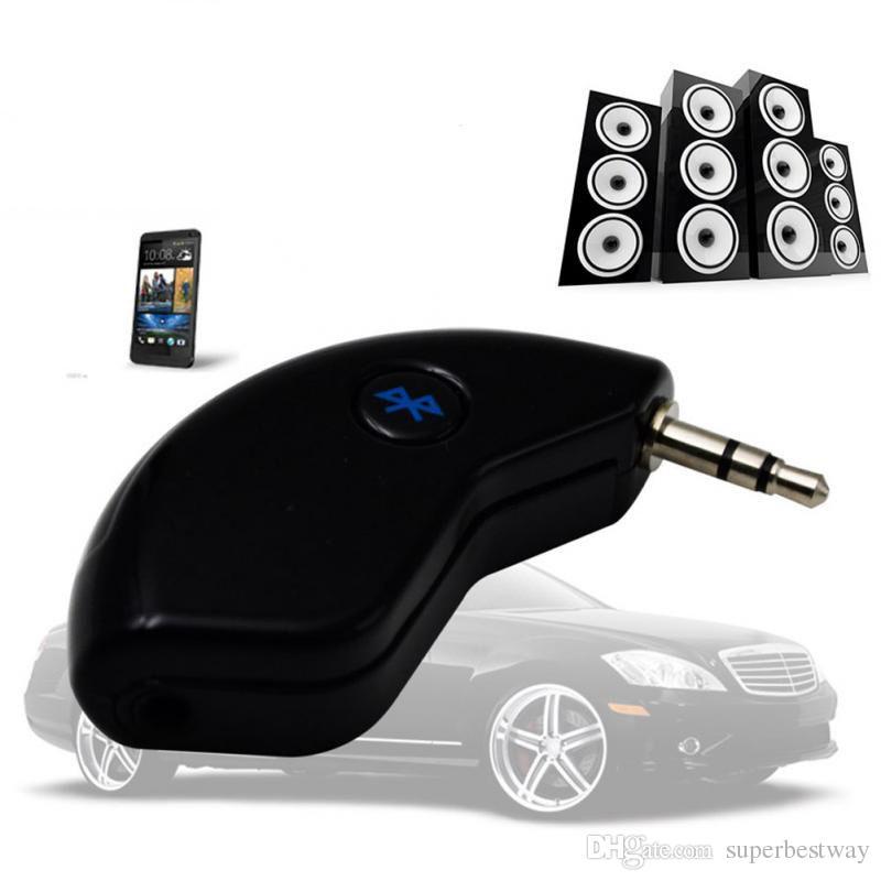 3,5 mm USB Bluetooth Wireless Receiver Audio Musik Adapter Auto Hause AUX Lautsprecher HK008 mit Box OTH247