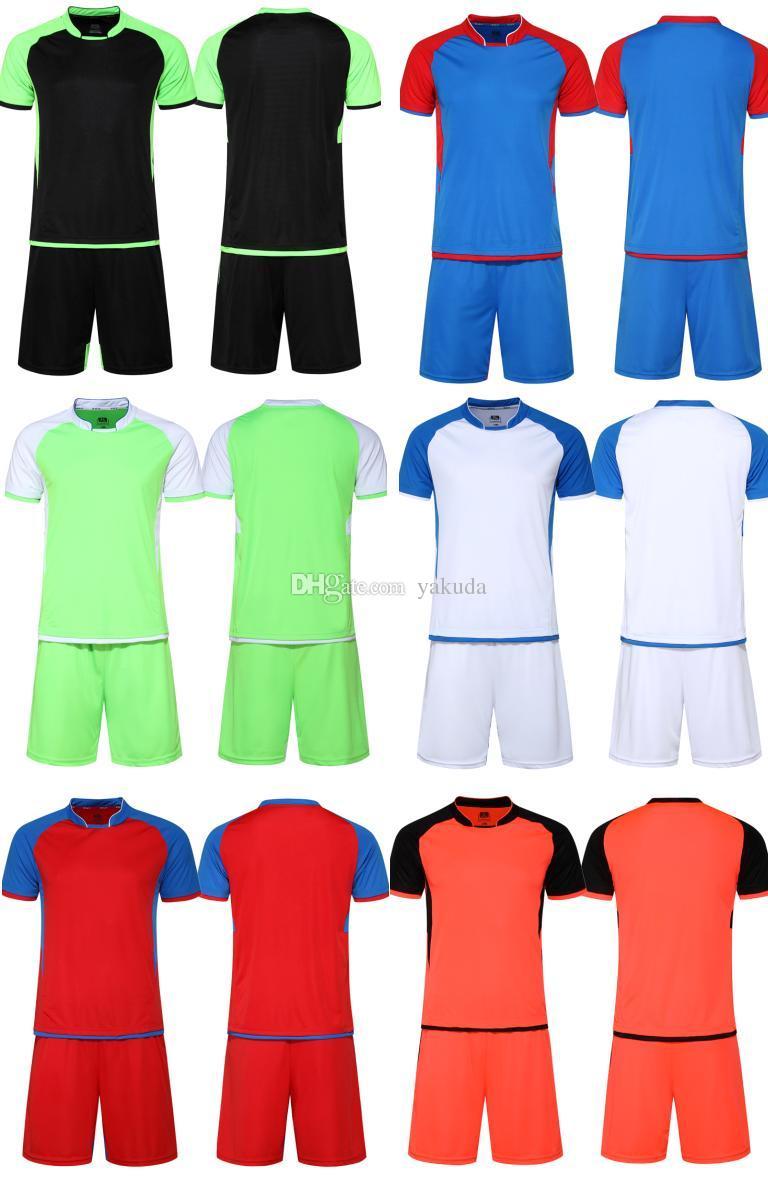 265a8f3a3 2019 Customized Team New Cheap Soccer Jersey Set