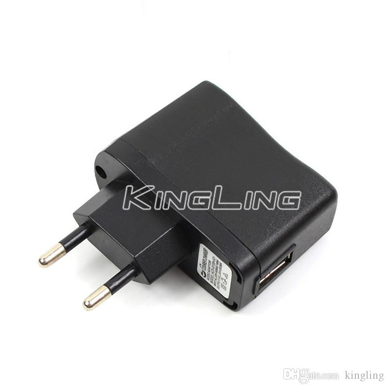 EGO Wall Charger Black USB AC Power Supply Wall Adapter Adaptor MP3 Charger USA Plug work for EGO-T EGO 510 Thread Battery