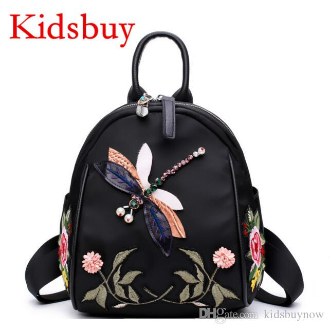 c38c3cfd14 Kidsbuy 2017 Newest Stylish Backpacks For Childrens Baby Girls Small School  Bags Kids Nylon Butterfly Bags Child Brand New Outdoor Bag KB069 Latest ...