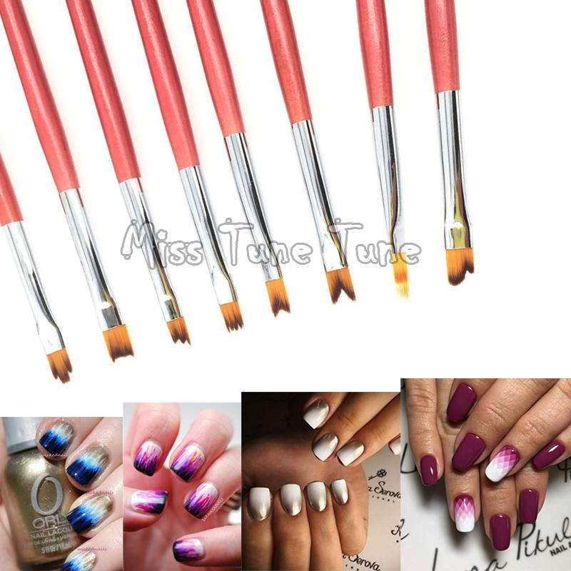 Online Cheap Nail Art Drawing Brush Uv Gel Painting Liner 3d Drawing ...