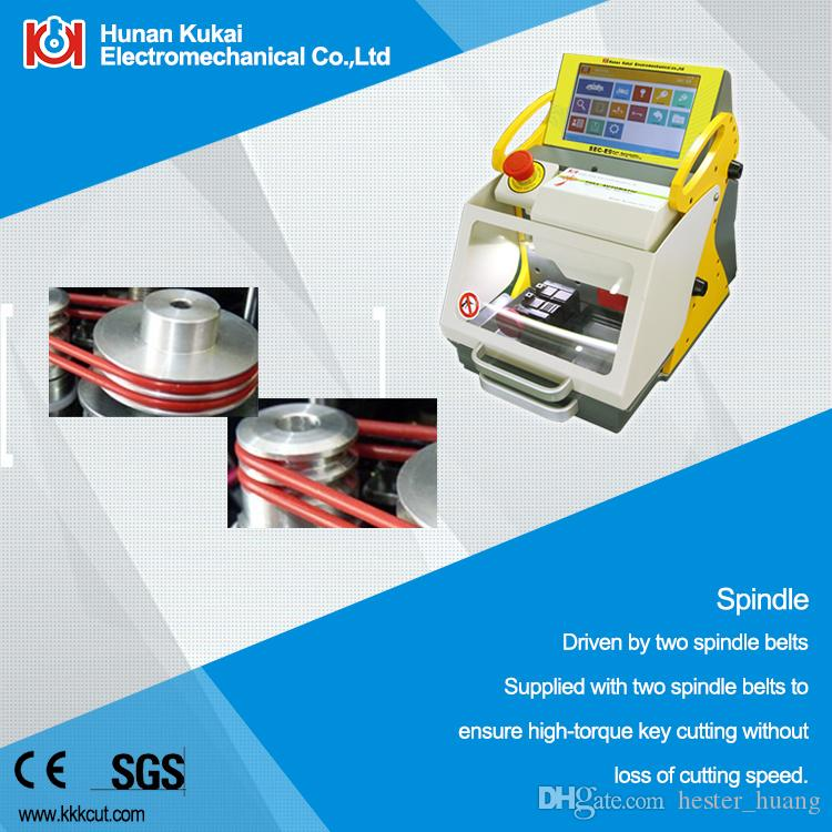 SEC-E9 key cutting machine! best locksmith tool sec e9 key cutting machine used for cutting keys with shipping cost by DHL to USA