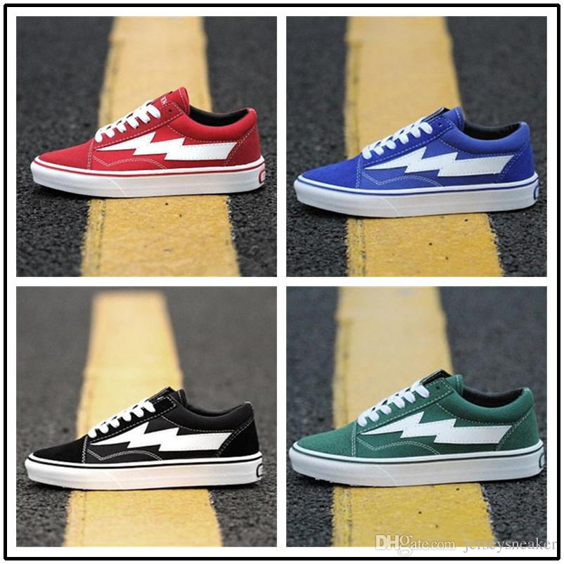 2018 Revenge X Storm Old Skool Canvas Shoes Men Sneakers Skateboarding Sports Shoes Women Skate Mens Black YellowTrainers cheap best store to get with paypal sale online sale Manchester footlocker finishline cheap price 3y283UmP