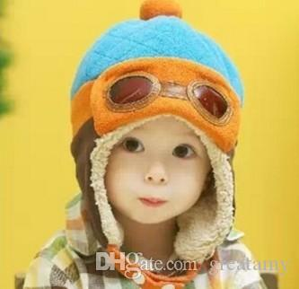 10 to 48 Months Baby Winter Hat Toddlers Cool Baby Boy Girl Infant Winter Pilot Warm Kids Cap Hat Beanie