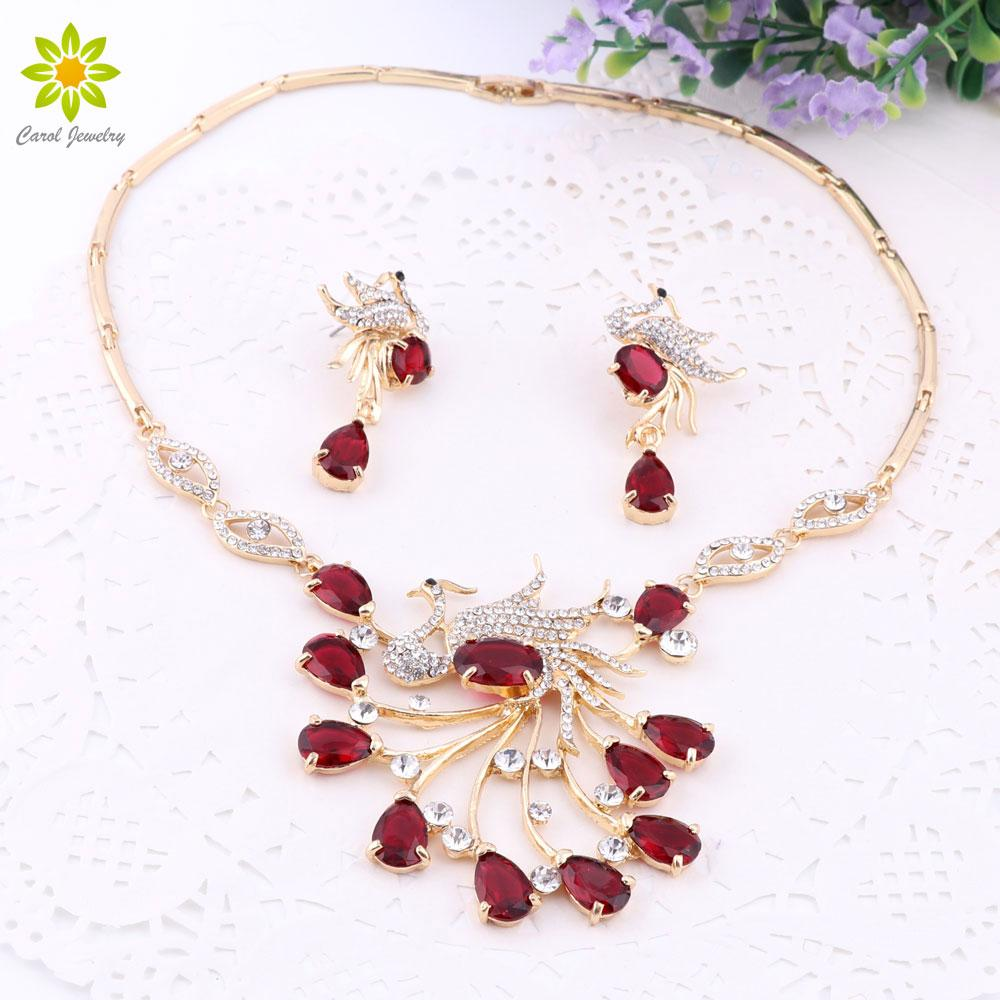 2018 New Gorgeous Jewelry Phoenix Bird Rhinestone Crystal ...