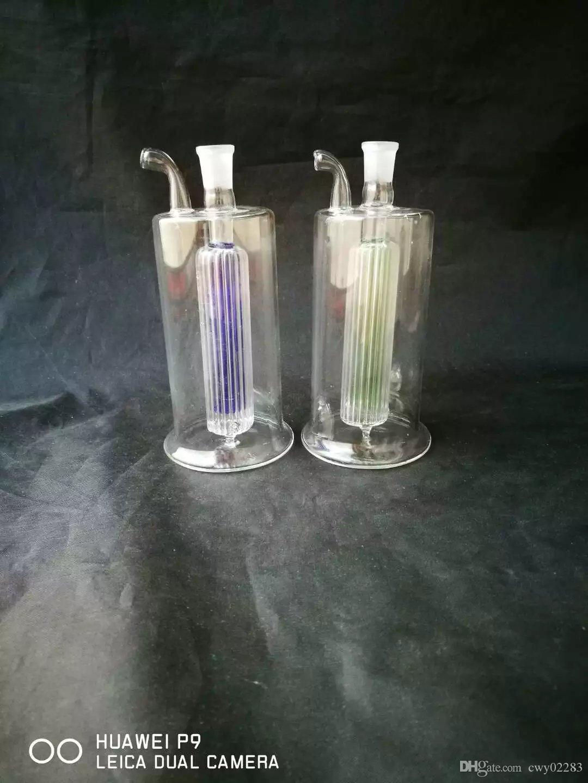 새로운 미니 필터 호스, 도매 유리 봉 액세서리, 유리 물 파이프 흡연, 무료 배송