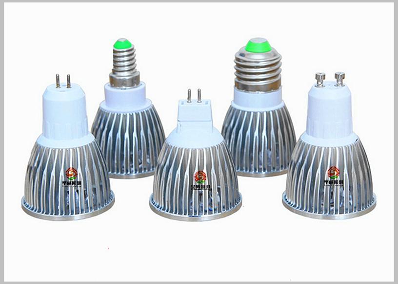 50% Oferta de descuento + 9W 12W 15W Luz de bombillas de punto led E27 E26 B22 MR16 GU10 Lámpara de luces led regulables CA 110-240V 12V