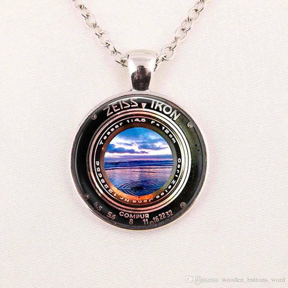 Wholesale camera pendant vintage achromat lens black white wholesale camera pendant vintage achromat lens black white photography necklace camera gift for him photographer not an actual lens charms for bracelets mom aloadofball Gallery