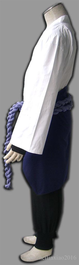 Anime popolari Naruto Sasuke Uchiha 3 Generation Cosplay Costume completo adulti Unisex Halloween Party