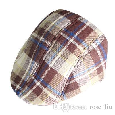 Çocuklar Erkek Kız Yutmak gird Bere Kap Yürüyor çocuk Düz Cabbie Şapkalar Pamuk Güneş karışık 12 renkler Caps