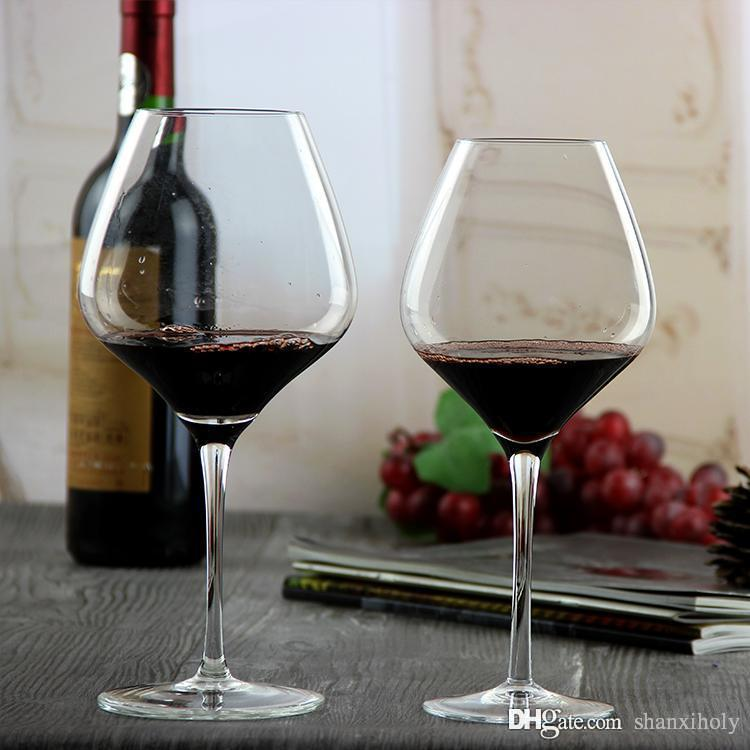 2019 Hot Sale Crystal Red Wine Glass Giant Long Stem Wine Glass From