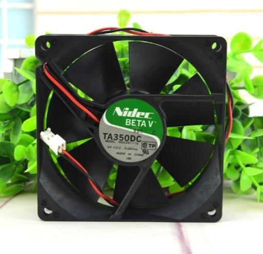 Nidec 90 * 90 * 25 24 V 0.28A TA350DC M34261-16 2 telli invertör fanı