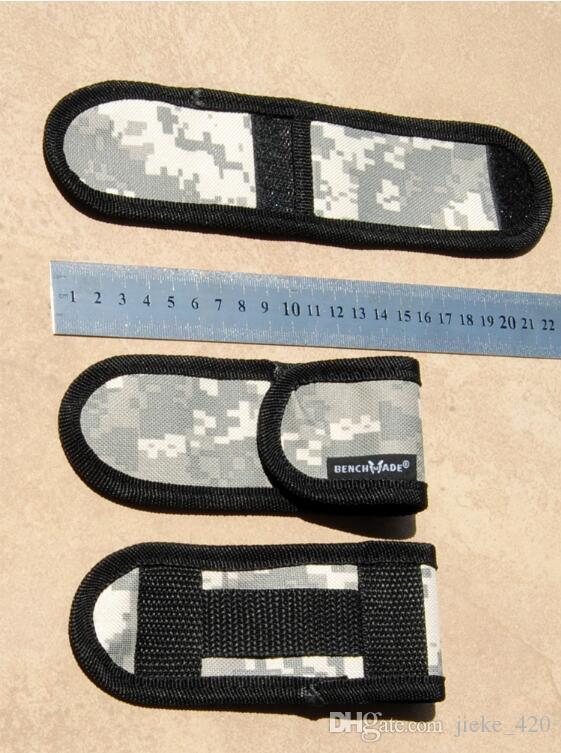 Nuova borsa di nylon di stile di coltelli della farfalla di Balisong di alta qualità, caso di clip multifunzionale degli attrezzi all'aperto, sacchetto del fodero soltanto!