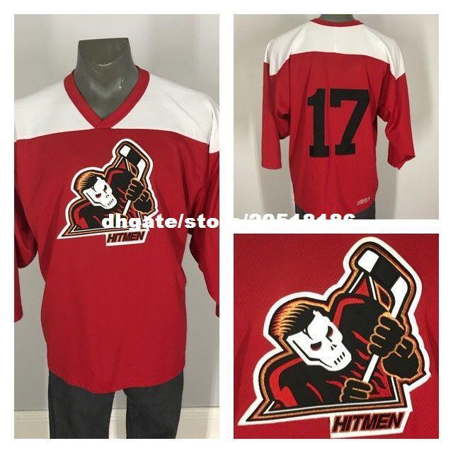 2019 Cheap Custom Vtg WHL CALGARY HITMEN Sewn Hockey JERSEYS NHL Flames  Friday 13th Jason Mask Stitched Men S Hockey Jersey From Nfljersey1 bdef8fda3