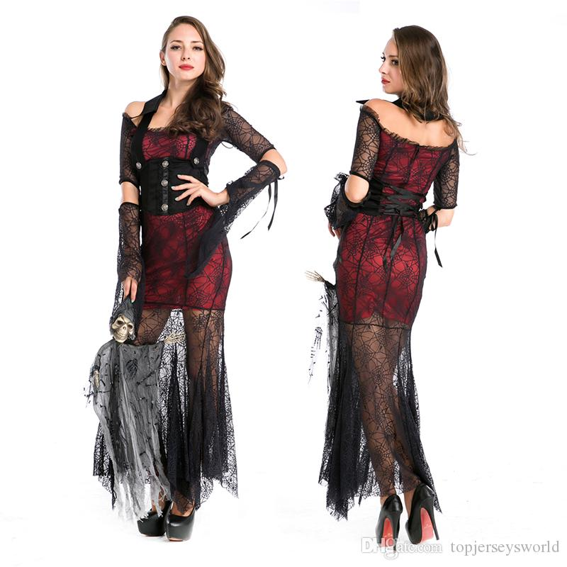 Sexy female vampire costume