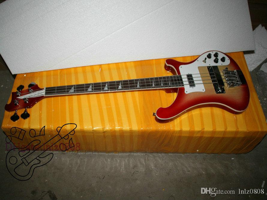 Bass Guitar New Arrival Cherry Burst 4 Strings 4003 Electric Bass High Quality