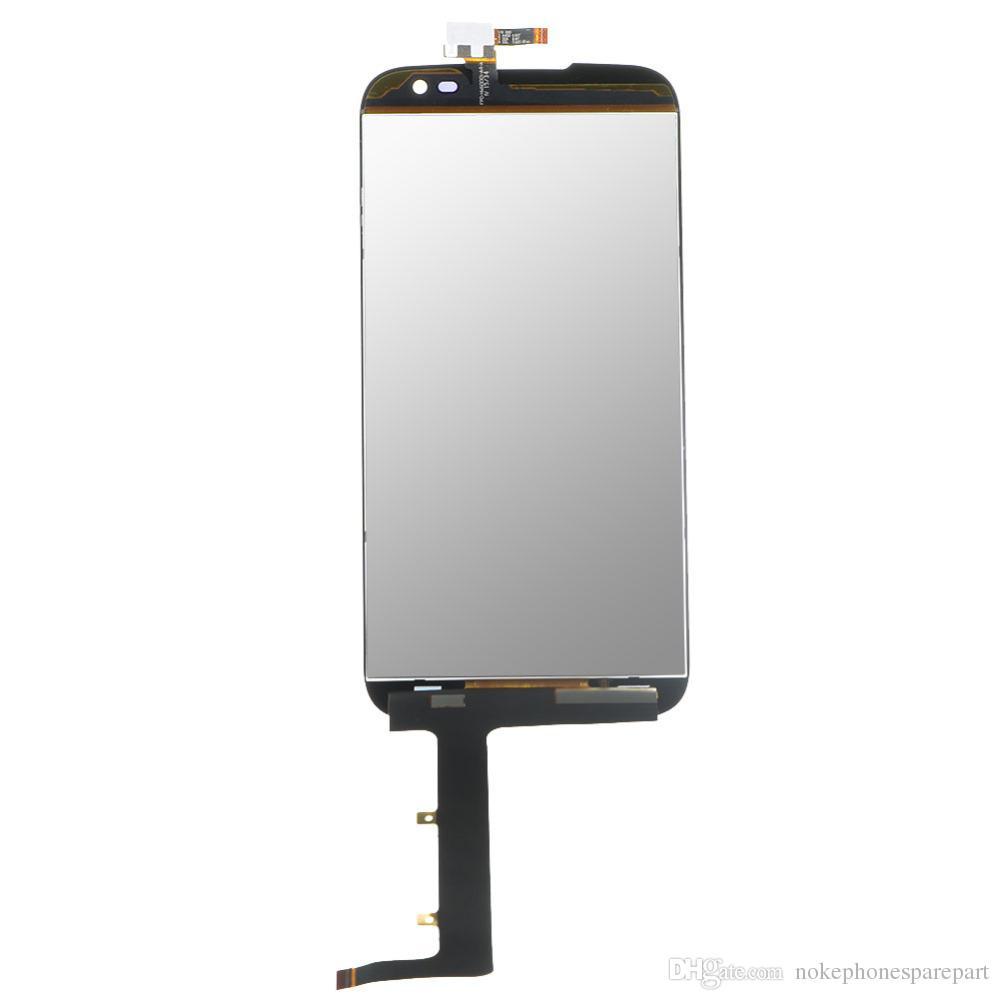 Original Preto BLU Studio 6.0 HD D650 Display LCD, Montagem da Tela de Toque BLU D650 Smartphone parts + frete grátis + número de rastreamento