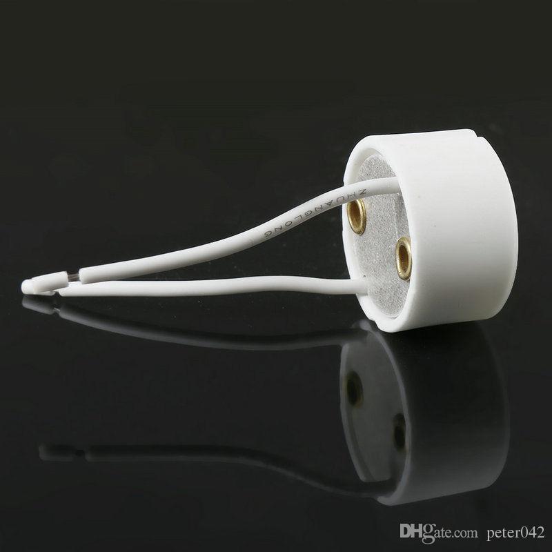GU10 할로겐 라이트 램프 홀더 와이어 커넥터 홀더 소켓베이스